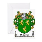 O'Horan Coat of Arms Greeting Cards (Pk of 10)