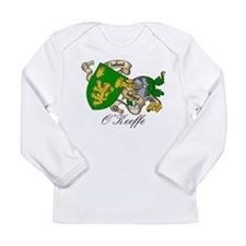 O'Keeffe Family Crest Long Sleeve Infant T-Shirt