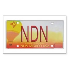 New Mexico NDN Pride Rectangle Decal