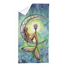 Mermaid Moon Fantasy Art by Molly Harrison Beac