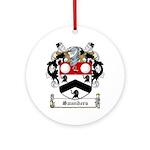 Saunders (Wexford)-Irish-9.jpg Ornament (Round)