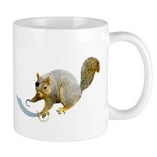 Pirate Squirrel Mug