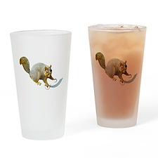 Pirate Squirrel Drinking Glass