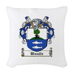 Woulfe-Irish-9.jpg Woven Throw Pillow