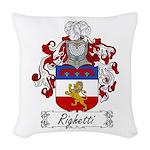 Ridolfi_Italian.jpg Woven Throw Pillow