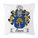 Rovere_Italian.jpg Woven Throw Pillow