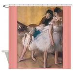 Degas Dancers Fine Art Shower Curtain