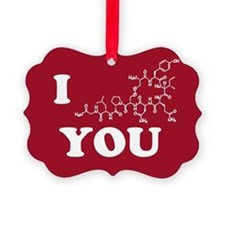 Oxytocin I Love You Ornament