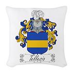 Tellesio_Italian.jpg Woven Throw Pillow