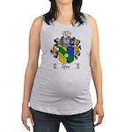 Tofani Family Crest Maternity Tank Top