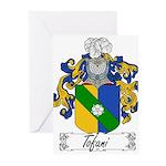 Tofani Family Crest Greeting Cards (Pk of 20)