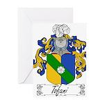 Tofani Family Crest Greeting Card