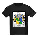 Tofani Family Crest Kids Dark T-Shirt