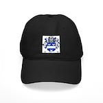 Tolomei Family Crest Black Cap