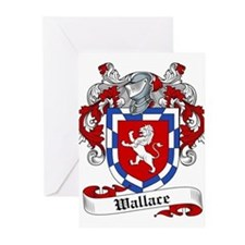 Wallace Coat of Arms Greeting Cards (Pk of 20)