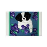 Japanese Chin Rectangle Magnet (100 pack)
