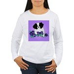 Japanese Chin Pup Women's Long Sleeve T-Shirt