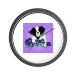 Japanese Chin Pup Wall Clock