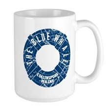 Dark Shadows Blue Whale Mug