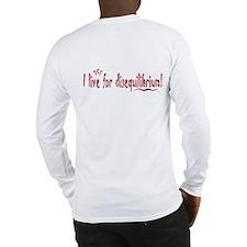 disequilibrium square copy Long Sleeve T-Shirt