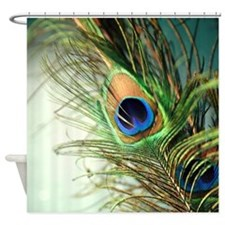 Funny Peacock Shower Curtain