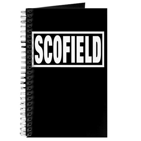 Scofield Black Journal