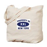Property of NEW YORK Tote Bag