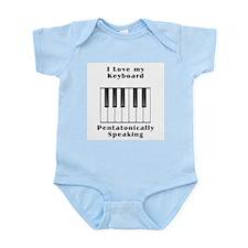 The Pentatonic Lover's Infant Bodysuit