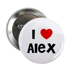 "I * Alex 2.25"" Button (10 pack)"