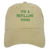 Papillon thing Baseball Cap