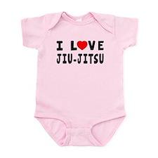 I Love Jiu-Jitsu Onesie