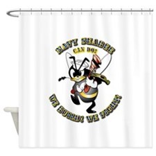 Navy SeaBee - Construction Shower Curtain