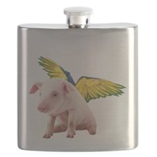 Pigs Fly Flask