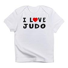 I Love Judo Infant T-Shirt