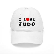 I Love Judo Baseball Cap