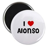 I * Alonso 2.25&quot; Magnet (10 pack)