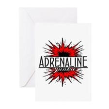 Adrenaline Junkie Greeting Cards (Pk of 10)