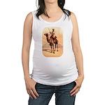 Camel Art Maternity Tank Top