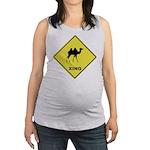 Camel Crossing Maternity Tank Top
