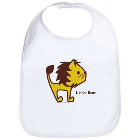 L is for Lion Bib