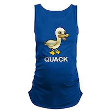 Quack Duck Maternity Tank Top