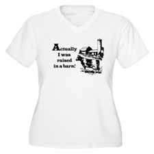 Barn Raised Plus Size T-Shirt
