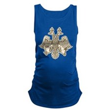 Two Headed Eagle Maternity Tank Top