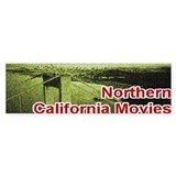 Northern California Bumper Car Sticker