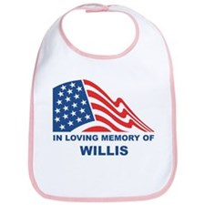 Loving Memory of Willis Bib