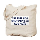 Big Deal in New York Tote Bag