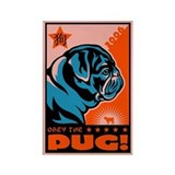 Year of the Black Pug! Propaganda Magnet