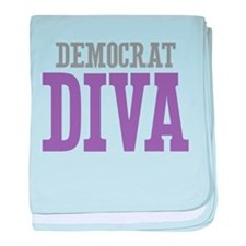 Democrat DIVA baby blanket