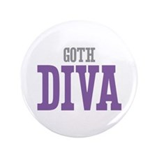 "Goth DIVA 3.5"" Button (100 pack)"