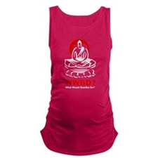 What Would Buddha Do? Maternity Tank Top